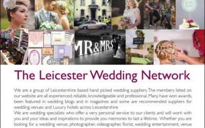 We're Members of The Leicester Wedding Network